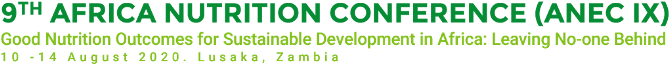 9th Africa Nutrition Conference (ANEC IX) Logo